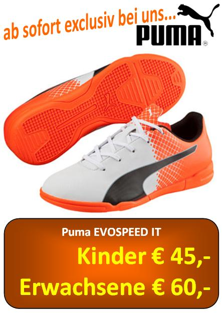 Puma Evopseed 5 5 IT orange weiß