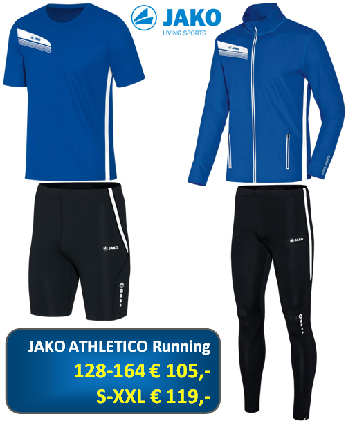 Jako Athletico Running Set