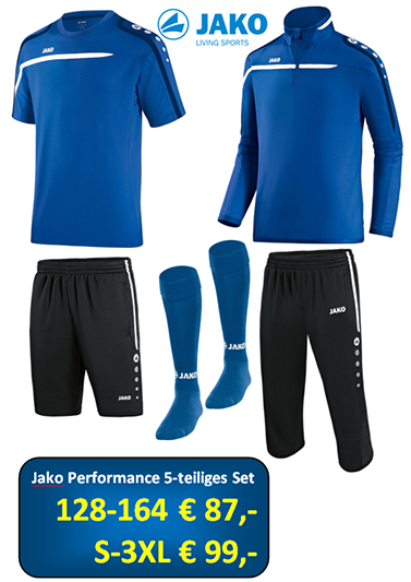Jako Performance 5 teiliges Set